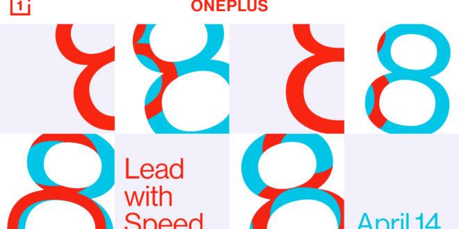 OnePlus presentará su familia OnePlus 8 en un evento online el próximo 14 de abril
