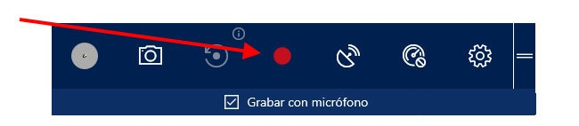 Empieza a grabar la pantalla en Windows 10 (Tecla Win+ Alt+R)
