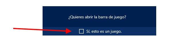 Abre la Barra de juego (Tecla Windows + G)