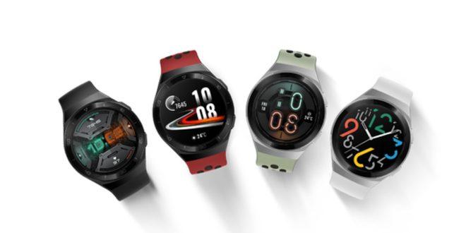 Huawei lanza HUAWEI WATCH GT 2e con 100 modos de entrenamiento y funciones mejoradas de salud