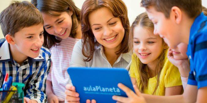 aulaPlaneta ofrece educación online gratuita a los escolares a través de su plataforma educativa