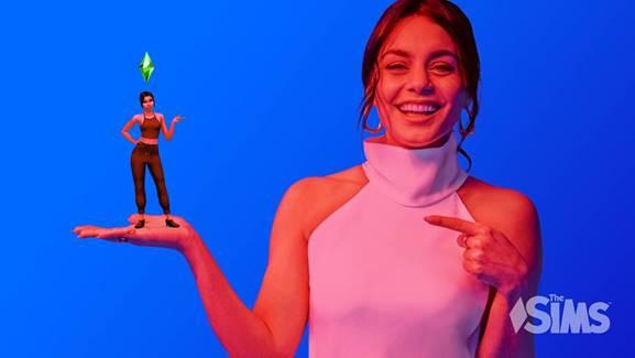 La actriz Vanessa Hudgens y Los Sims 4 celebran 20 años jugando a la vida