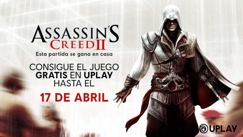 Ubisoft ha anunciado que Assassin's Creed 2 gratis hasta el 17 de abril