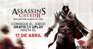 Ubisoft ha anunciado que Assassin's Creed 2 gratis hasta el 17 de abril