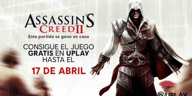 Ubisoftha anunciado queAssassin's Creed 2gratis hasta el 17 de abril