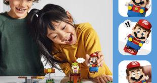 El Grupo LEGO y Nintendo presentan los primeros sets de LEGO Super Mario