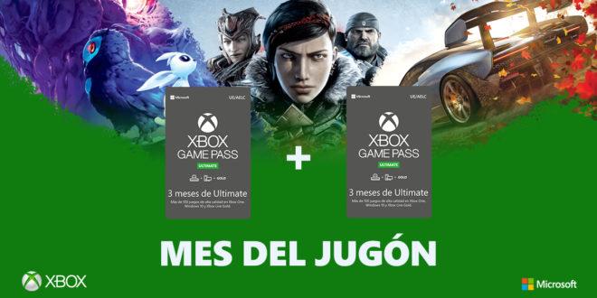 Xbox España celebra el Mes del Jugón con descuentos y promociones en consolas Xbox One, Xbox Game Pass Ultimate, juegos y accesorios