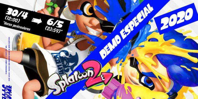 Prueba gratis la Demo Especial 2020 de Splatoon 2 y disfruta de los combates territoriales entre equipos de 4 jugadores desde el 30 de abril al 6 de mayo