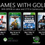Anunciados los Games with Gold de mayo de 2020 para Xbox