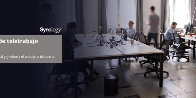 Los factores clave para trabajar desde casa de forma eficaz según Synology