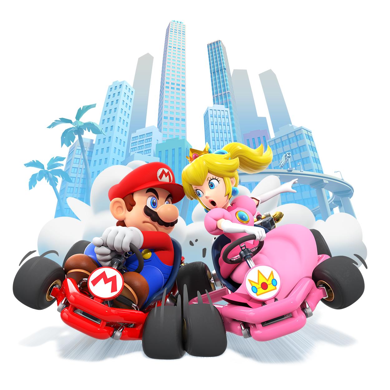 Las carreras por equipo llegan a Mario Kart Tour, disponible para dispositivos inteligentes