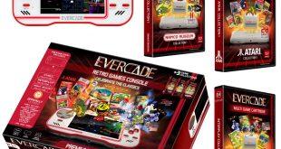Evercade, una consola portátil con toques retro