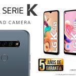 LG presenta sus smartphones de la serie K. LG K41S, K51S y K61