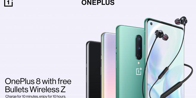 OnePlus presenta una oferta exclusiva con la compra del nuevo OnePlus 8
