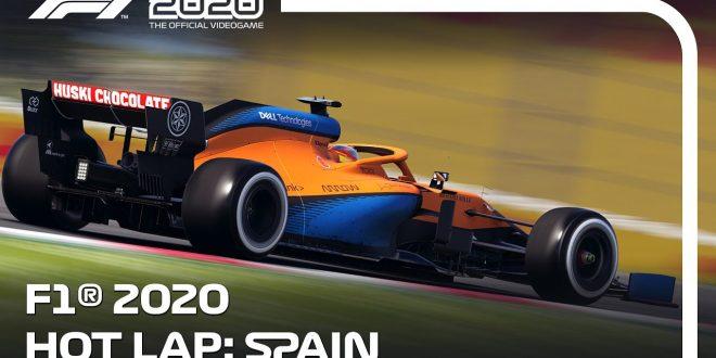 Una vuelta rápida al Circuito de Barcelona-Catalunya con Carlos Sainz y F1 2020