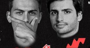 Dybala y Carlos Sainz Jr. se retan a FIFA 20 enfrentando la selección española y la argentina en el videojuego