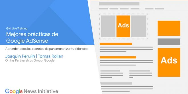 Mejores prácticas de Google AdSense - GNI Live Training en español
