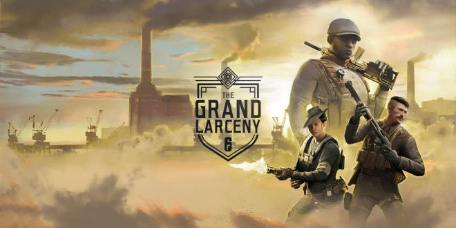 Tom Clancy's Rainbow Six Siege: The Grand Larceny un evento hasta el 19 de mayo