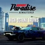 Burnout Paradise Remastered para Nintendo Switch estrena tráiler