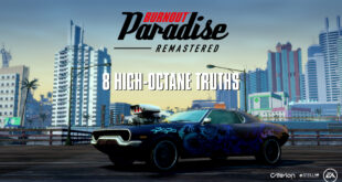 Burnout Paradise Remastered para Nintendo Switch estrena tráiler