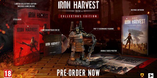 Reserva anticipada, edición coleccionista y demo de Iron Harvest 1920+