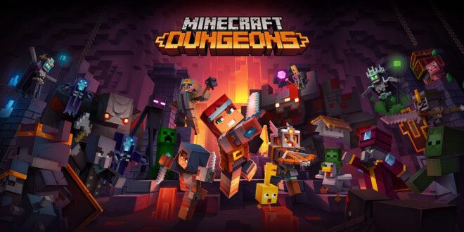 Ya disponible Minecraft Dungeons