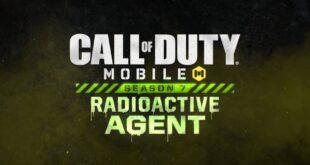 Call of Duty: Mobile, dando comienzo a laTemporada 7: Agente Radioactivo