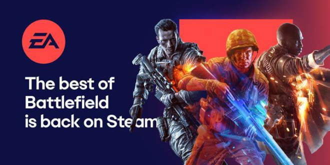 EA anuncia nuevos título disponibles en el catálogo de Steam