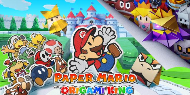 Paper Mario: The Origami King,ya disponible en exclusiva para Nintendo Switch