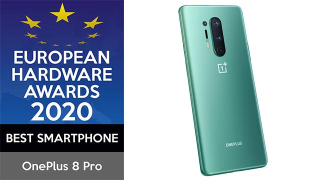 OnePlus 8 Pro, Premio al Mejor Smartphone de 2020 en los European Hardware Awards