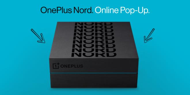 El OnePlus Nord se podrá adquirir a través de una Pop-up online a partir del próximo 29 de julio