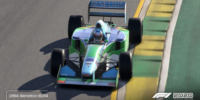 Ya disponible la Schumacher Edition de F1 2020