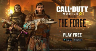 Call of Duty: Mobile, temporada 8 junto con el Pase de Batalla deThe Forge