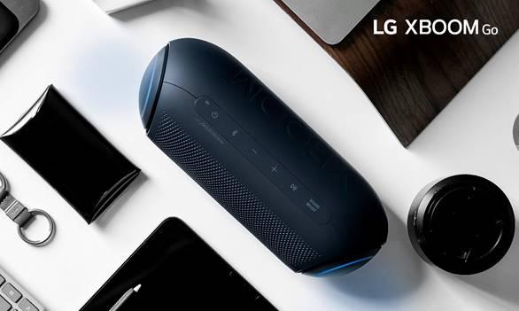 LG ofrece máxima calidad de sonido, autonomía y elegancia en sus nuevos altavoces XBOOM Go