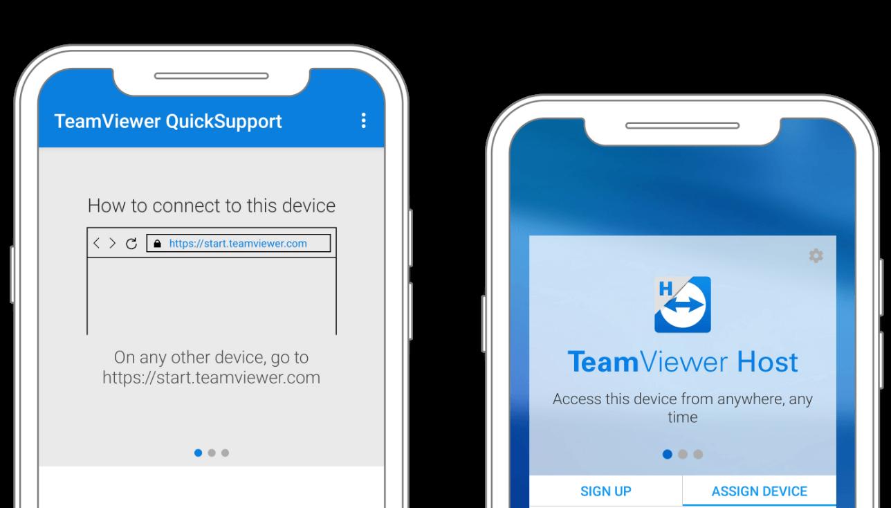 TeamViewer habilita el acceso y control remoto para todos los dispositivos Android