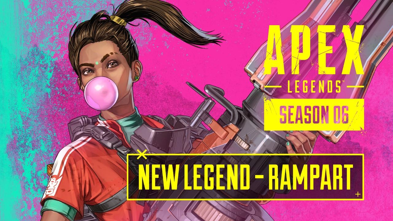 ¡Rampart entra en acción! Llega el nuevo gameplay tráiler y el Pase de Batalla de la Temporada 6 de Apex Legends