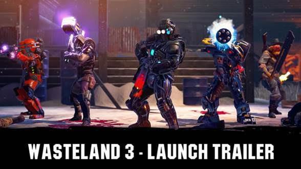 Wasteland 3 ya a la venta - tráiler de lanzamiento