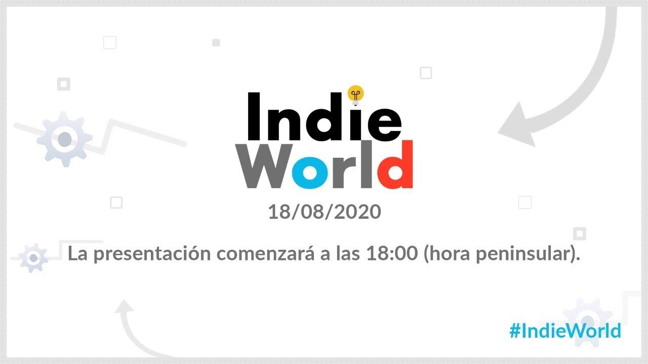 La siguiente presentación Indie World de Nintendo llega el 18 de agosto