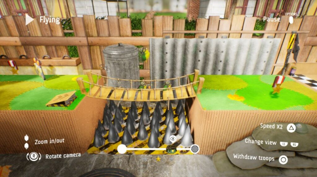 Ya disponible Flying Soldiers, un divertido juego de puzles en 3D para PlayStation 4 - Frikipandi