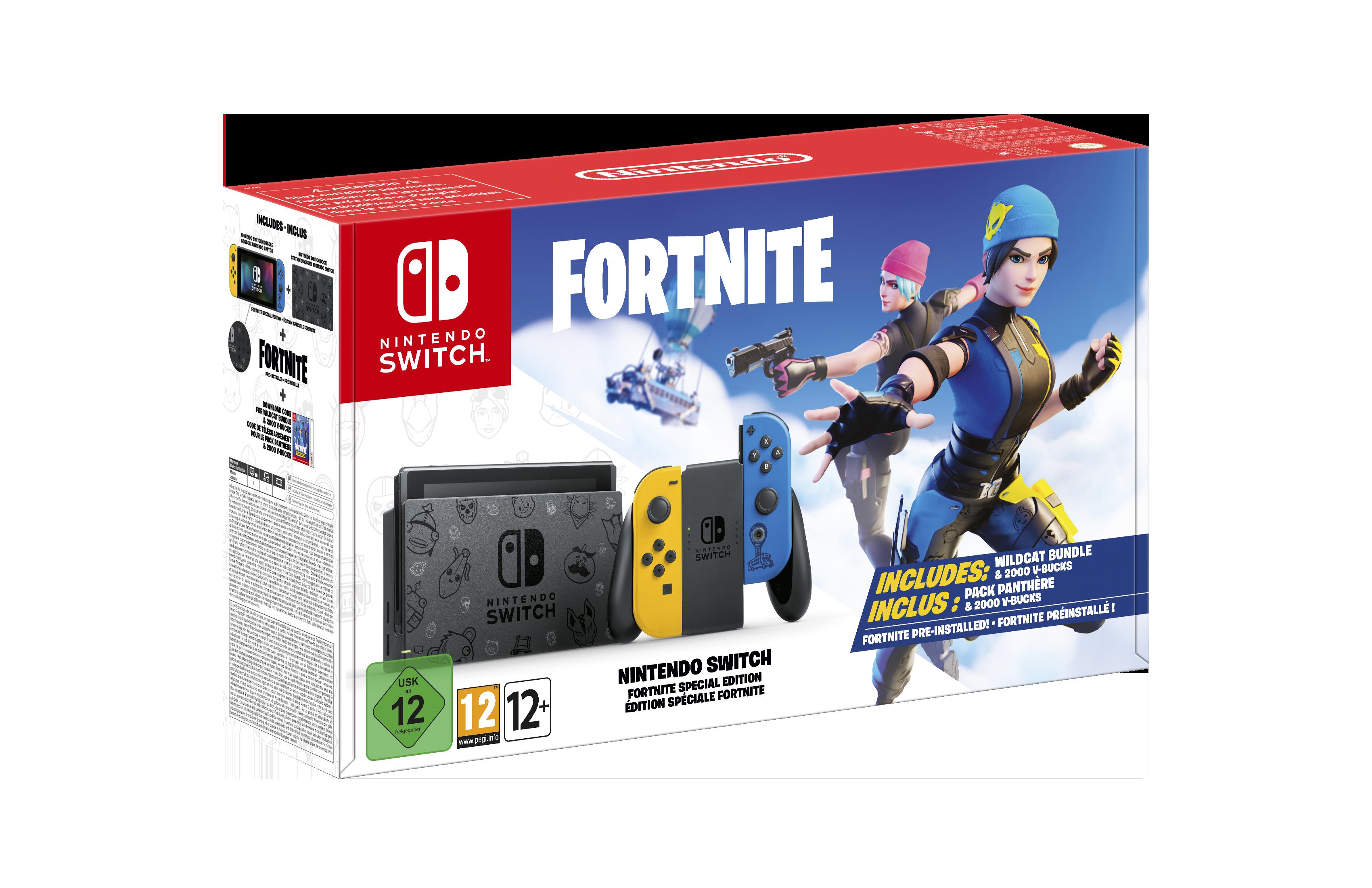Nuevo pack Nintendo Switch Fortnite edición especial a partir del 30 de octubre
