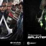 Assassin's Creed y Splinter Cell juegos exclusivos en la plataforma Oculus