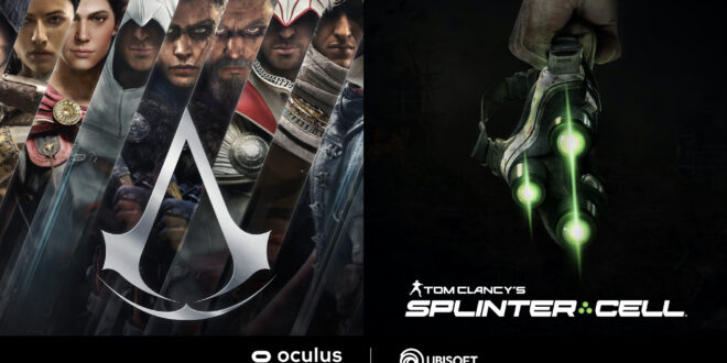Assassin's Creed y Splinter Cell juegos exclusivos en la plataforma Oculus