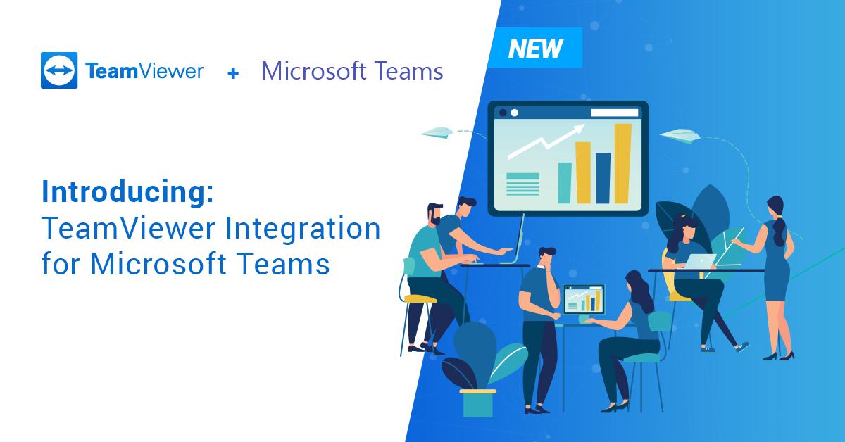 TeamViewer se integra con Microsoft Teams