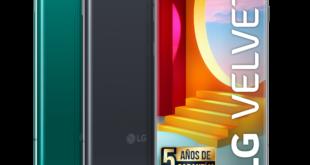 LG Velvet 5G añade color a su gama