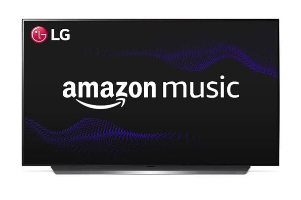 Amazon Music ya está disponible en los televisores LG Smart TV en España