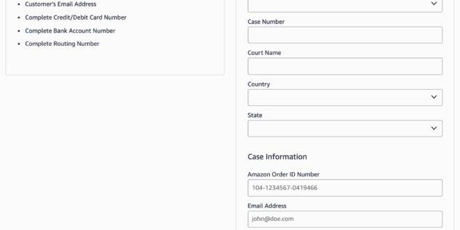 Así es como la policía solicita los datos de los clientes de Amazon