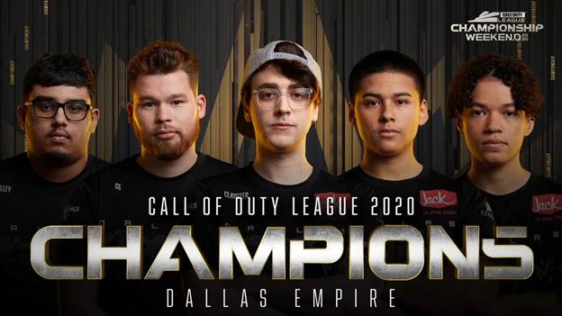 Dallas Empire gana el primer Call of Duty League Championship