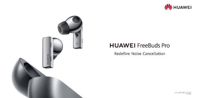 HUAWEI FreeBuds Pro los primeros auriculares TWS del mundo con cancelación de ruido dinámica e inteligente