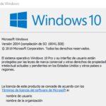 Microsoft libera la acumulativa 19041.508 de Windows 10 para la versión 2004