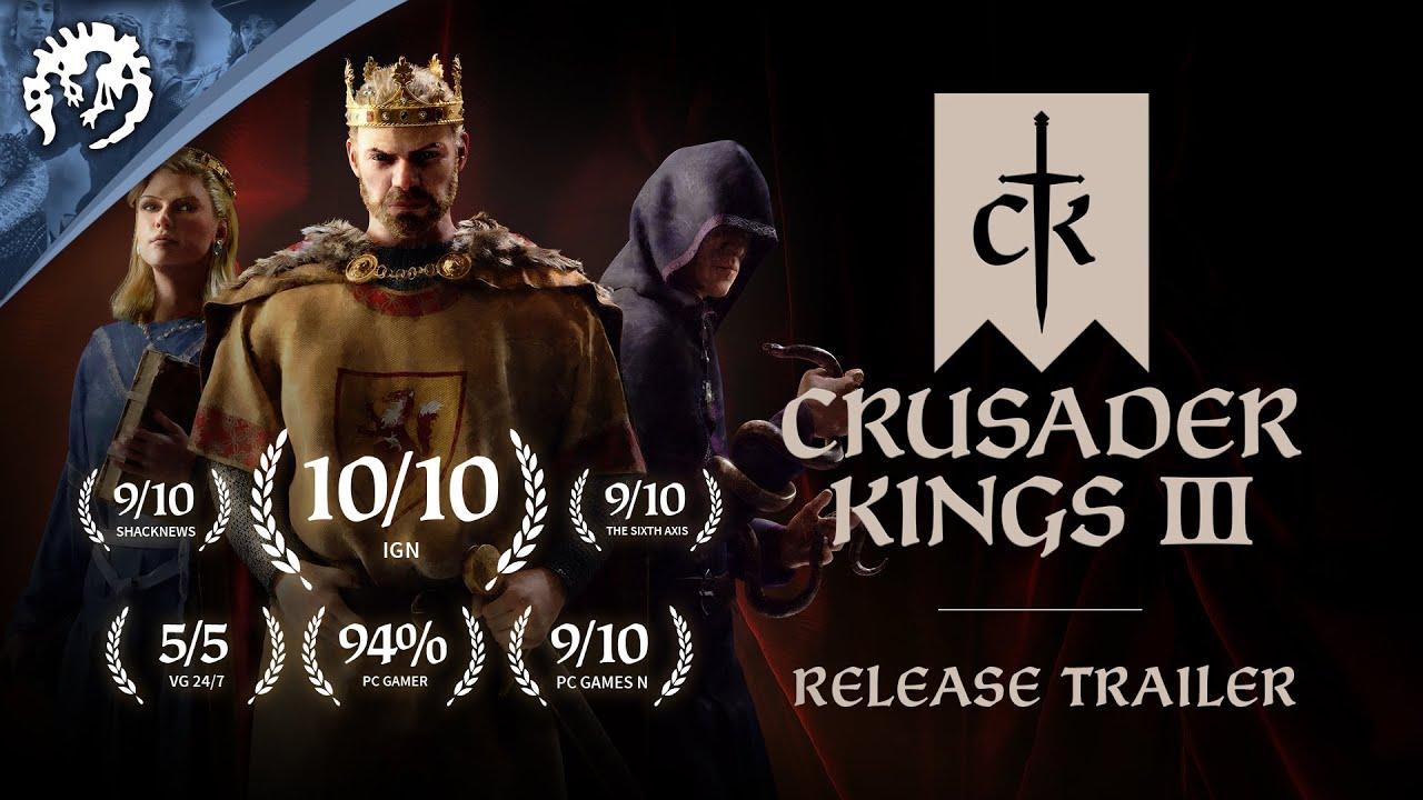 Crusaders Kings III ya a la venta en PC